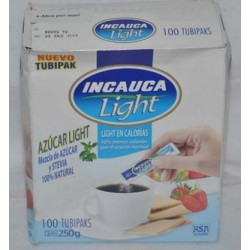 Azucar Light Sb Blanca Incauc Cjx100x5g
