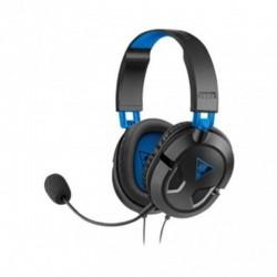 Audífonos Gaming alámbricos de Diadema con micrófono, Turtle Beach Recon, para PlayStation PS4 Ear Force Recon 50P, color Negro,
