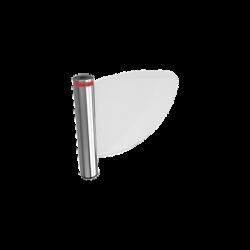 WING 40 CAME / Puerta de cortesía / torniquete abatible de plexiglass / compatible con hoja de plexiglas de 60 o 90 cm (No incl