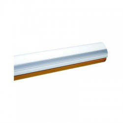 G03750 Mástil de semi-tubular para KX-BG-GA, 4 metros, Color blanco semi elíptico