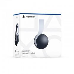 Audífonos de Diadema para consola PLAYSTATION PS5 Inalámbricos Over Ear Pulse 3D Blanco y Negro