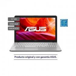 Portátil ASUS X543MA-GQ1025T Intel® Celeron® N4020 Processor 1.1 GHz , 15,6, 4GB, 500 GB,SO Windows 10 , Sin Unidad Óptica,