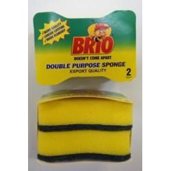 Esponja Doble Uso 2 x 1 brio