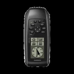 GPS portátil GPSMAP 73 con pantalla en banco y negro, mil puntos de almacenamiento interno, sumergible y flotante.