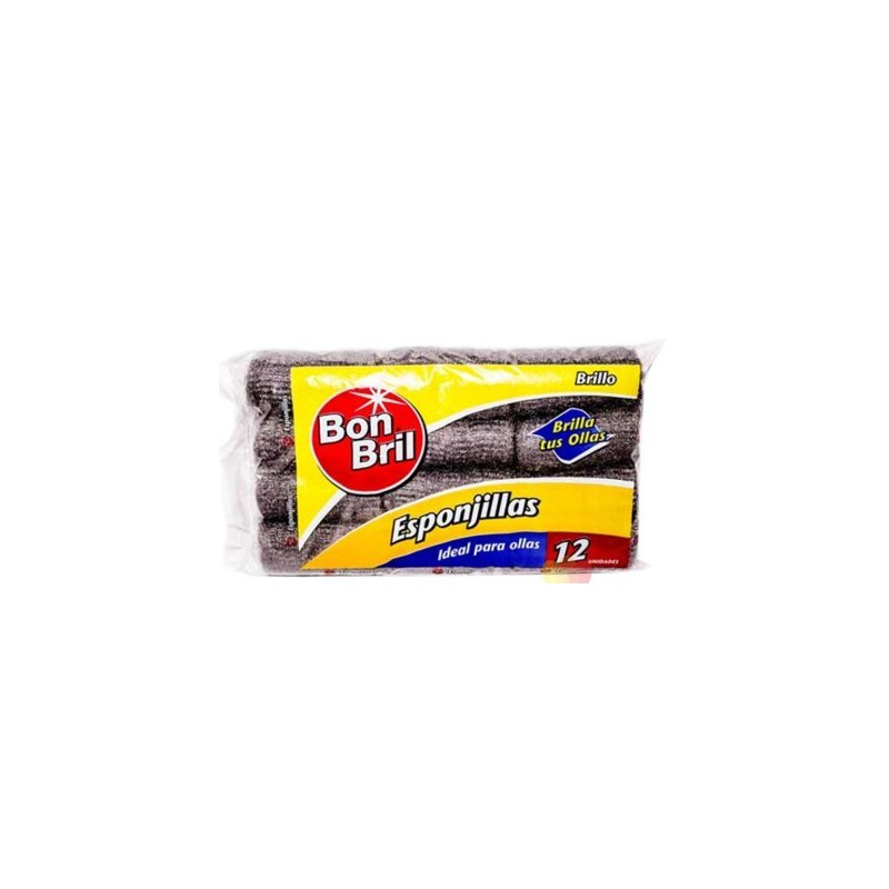 Esponjilla Bon Bril Paquetex12 Esponj