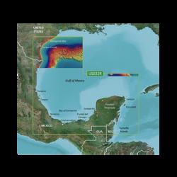 Mapa VUS032R Sur del Golfo de México.