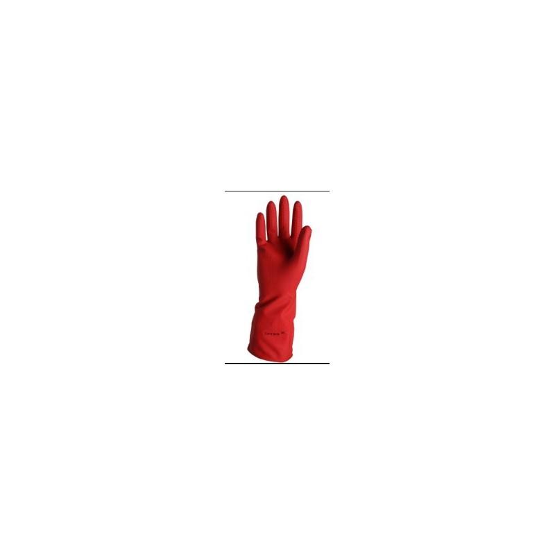 Guante Ind Rojo Cal 25 Latexport