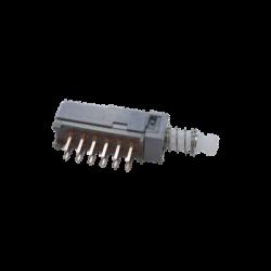 Interruptor de boton deslizable para Wattmetro Bird 43P.