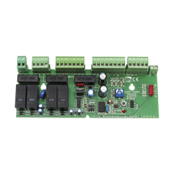 Tarjeta de refacción para motores CAME con tablilla ZBX6