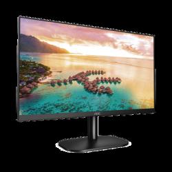 """Monitor LED de 23.8"""" VESA, Resolución 1920 x 1080 Pixeles, Entradas de Video VGA/HDMI. Panel IPS LCD Backlight LED. Ultra Delga"""