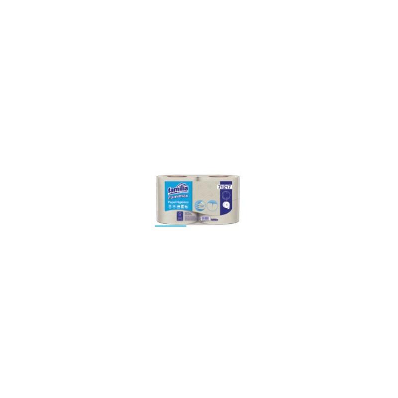 Papel higiénico Famimax natural precortado Jumb 4R 95Mt 71217