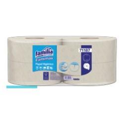 Papel higiénico Jumb Famimax natural precortado  x p 4u x 170mt 71187