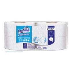 Papel higiénico Jumbo 170 mts Triple Hoja Textura Suaviz  Famimax blanco precortado 71177