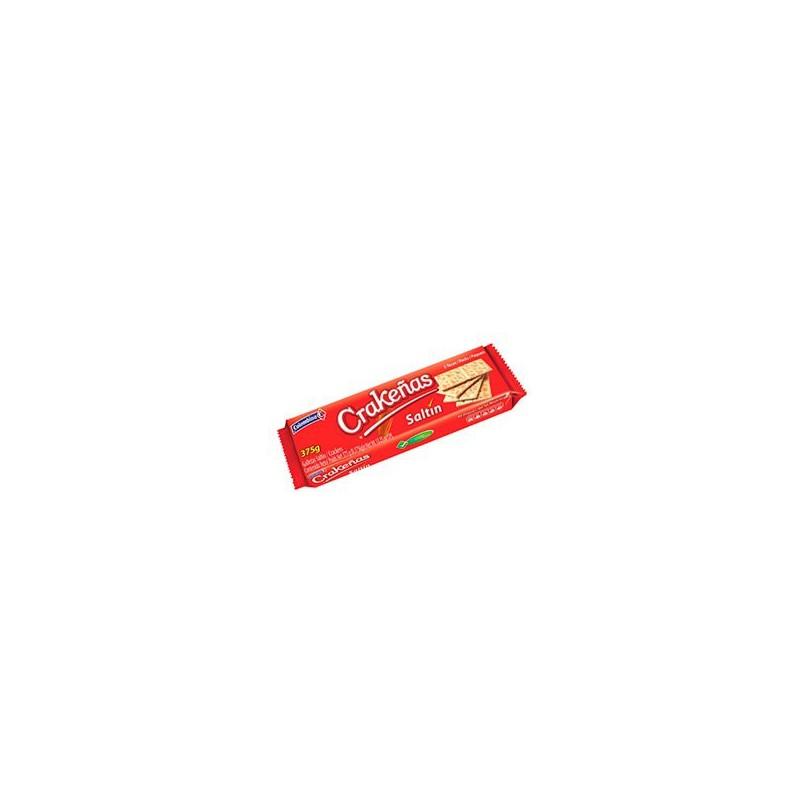Saltin Crakeñas 375gr (5 tacosx12u)
