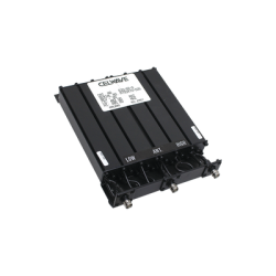 Duplexer Compacto de Rechazo de Banda, 470-512 MHz, 6 cavidades, 50 Watt.