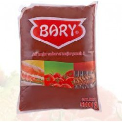Pasta de Tomate Bary Bolsa x 5000gr