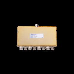 Divisor de Potencia EMR de 8 Vías, 30-700 MHz, 0.5 Watt, Conectores N Hembra.