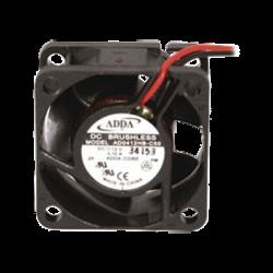 Ventilador Axial, sin Escobillas de 40 X 40 X 20 mm, Rodamiento de Baleros, Cables de 30 cm, 12 Vcd, 100 mA, 8.8 CFM.