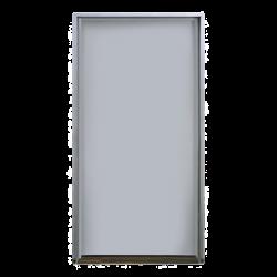 """Puerta metálica galvanizada 4' 0"""" x 7' 0"""" /Resistente al fuego por 180 min /Preparación para cerradura cilíndrica y refuerzo"""