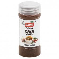Chili en Polvo Badia x 70.8 gr