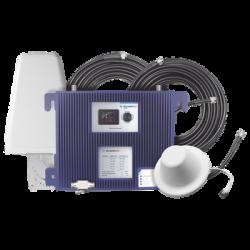 KIT Amplificador de Señal Celular PRO1000   Con Pantalla a color para ver los estatus y niveles de Señal   TODAS LAS FRECUENCI