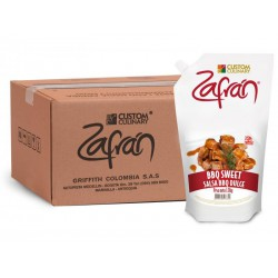 Salsa BBQ Sweet Zafran x kg 685-666-601