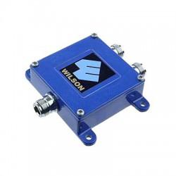 Divisor de potencia de dos vías para 800 MHz.