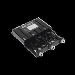 Duplexer Compacto de Rechazo de Banda, 144-154 MHz, 6 Cavidades, 50 Watt, Conectores N Hembra.