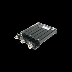 Duplexer Compacto de Rechazo de Banda, 450-470 MHz, 6 cavidades, 50 Watt.
