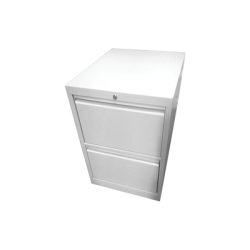 Archivero Tamaño Oficio / Metálico con 2 Gavetas y Cofre Tipo Caja Fuerte