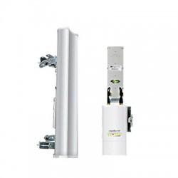 Antena sectorial para radio estaciones base airMAX Rocket-M9 de 120 grados cobertura horizontal, 900 MHz (902-928 MHz) de 13 dBi