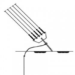 Kit de aterrizaje para ancla de retenida serie G.