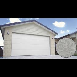 Puerta de Garage PREMIUM, Lisa color blanco 20X7 FT, AISLADA, Estilo U.S.A.