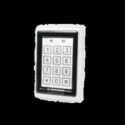 Teclado autónomo Antivandálico para 500 usuarios con lector de proximidad/ IP65