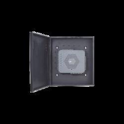 Controlador de Acceso / 2 Puertas / PoE / NO requiere Software / Biometría Integrada / 5,000 Huellas / Incluye Fuente y Gabinet