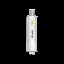 Radio airMAX Bullet-M2HP, hasta 100 Mbps, frecuencia de 2 GHz (2412 - 2472 GHz), No incluye adaptador PoE
