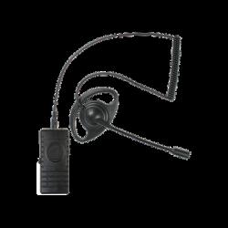 PTT Bluetooth C/MIC Tipo Boom y Auricular Tipo D P/RAD HYT