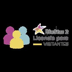 Licencia de Visitantes para uso con software BIOSTAR2