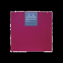 Gabinete para dos baterías de respaldo de 26 AH. Para aplicaciones en sistemas de detección de incendio (FAS).