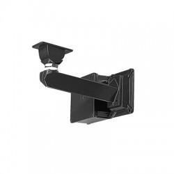 Montaje y caja de conexiones con canal interno para cable, especial para gabinete anti balas AVBPH