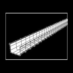 Charola 105/150 mm ancho, tramo 3 m