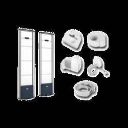 Kit de Arcos EAS para Protección de Ropa, Botellas, con Accesorios RX, TX 8.2 MHz hasta 1.8 m