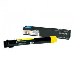 Lexmark C950 Yellow High Yield Toner Cartridge   Suministros Toner Rendimiento 22.000 C950