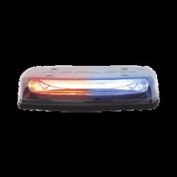 """Micro barra LED Reflex de 11"""", 12-24Vcd, montaje permanente, lente claro, LED color rojo, azul"""