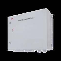 Caja combinadora de series fotovoltaicas, incluye diodos Anti-reversibles de corriente, ideal para instalaciones robustas donde