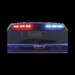 Montaje Citadel EZ, interceptor policiaco , color rojo/azul con flash independiente