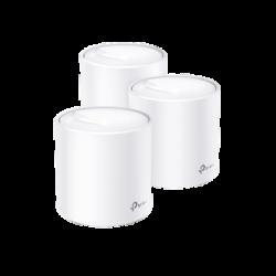 KIT de sistema inalámbrico Deco X60 mesh para hogar, doble banda Wi-Fi 6 (AX), doble puerto Gigabit, 4 antenas internas y compa