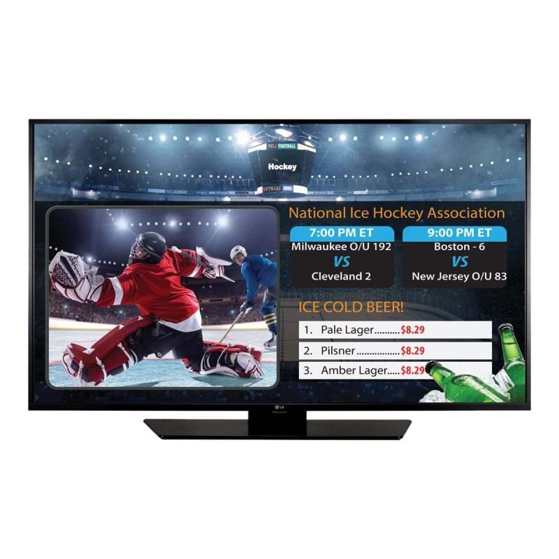 TV+Cartelera Digital LG 49 / DVB-T2 / 12x7 / USB Playback /RJ45