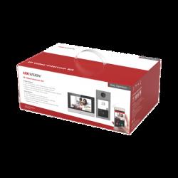 Kit de Videoportero IP WiFi con llamada a App de Smartphone (HikConnect) / Programación por Interfaz Web / Frente de calle IK08