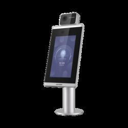 Biométrico para Acceso con Reconocimiento Facial ULTRA RÁPIDO / Cámara Dual 2mp / Incluye montaje para Torniquete / Termogra